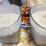 Budincă din lapte de cocos cu semnițe de chia