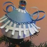 Ingeras albastru-craft